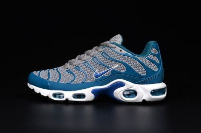 Nike Air Max Plus TN KPU Tuned Men Sneakers Running Trainers Shoes Grey Blue