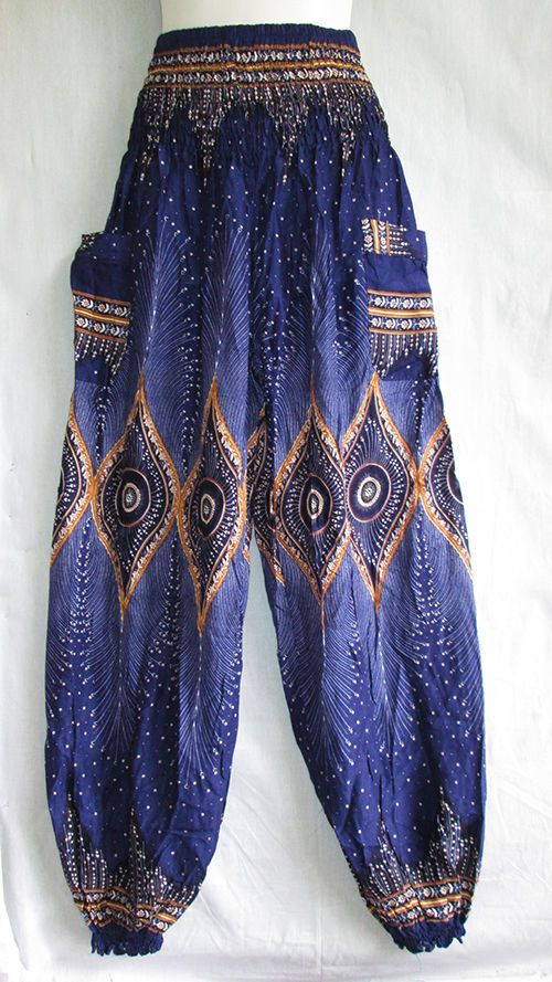New Genie Hippie Aladdin Alibaba Gypsy Boho Harem Pants Beach Trouser Woman Girl #SPICEINDY #CasualPants