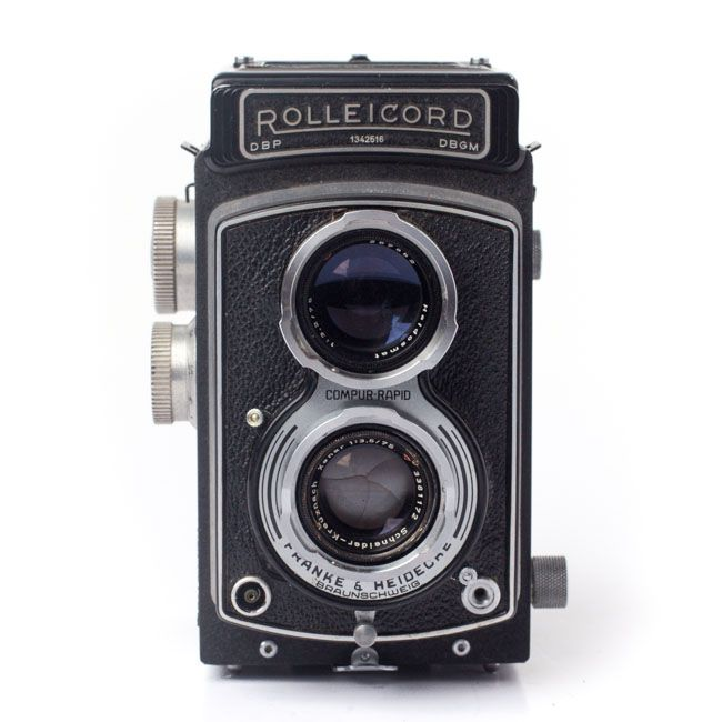 Refurbished - Rolleicord Twin Lens Reflex (TLR) | Format Analog