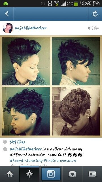 Awesome 1000 Images About Short Relaxed Hairstyles On Pinterest Short Hairstyles Gunalazisus