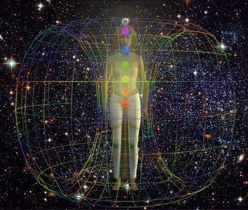 Everything about you is 'alive' with a vibrational frequency. Every thought, every emotion, every cell, every organ… everything that makes up 'you' is basically different vibrations clustered together. The chakras are the energy centers through which energy moves. When the chakras are open, everything is in balance and harmony.
