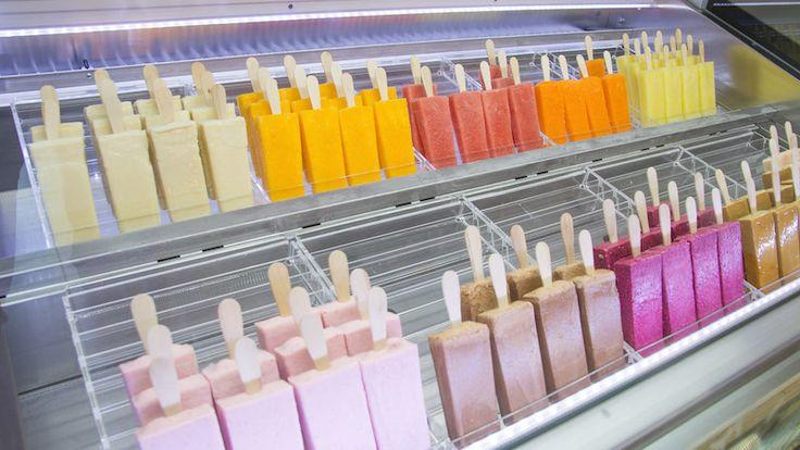 Tulup es una heladería en la calle Embajadores especializada en paletas…