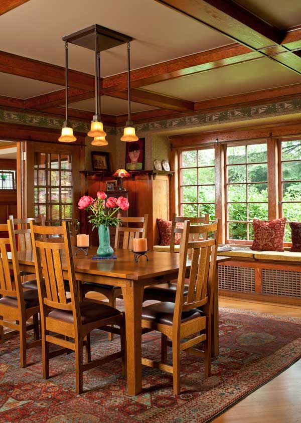 A Refined Bungalow In Portland. Bungalow Dining RoomCraftsman ...