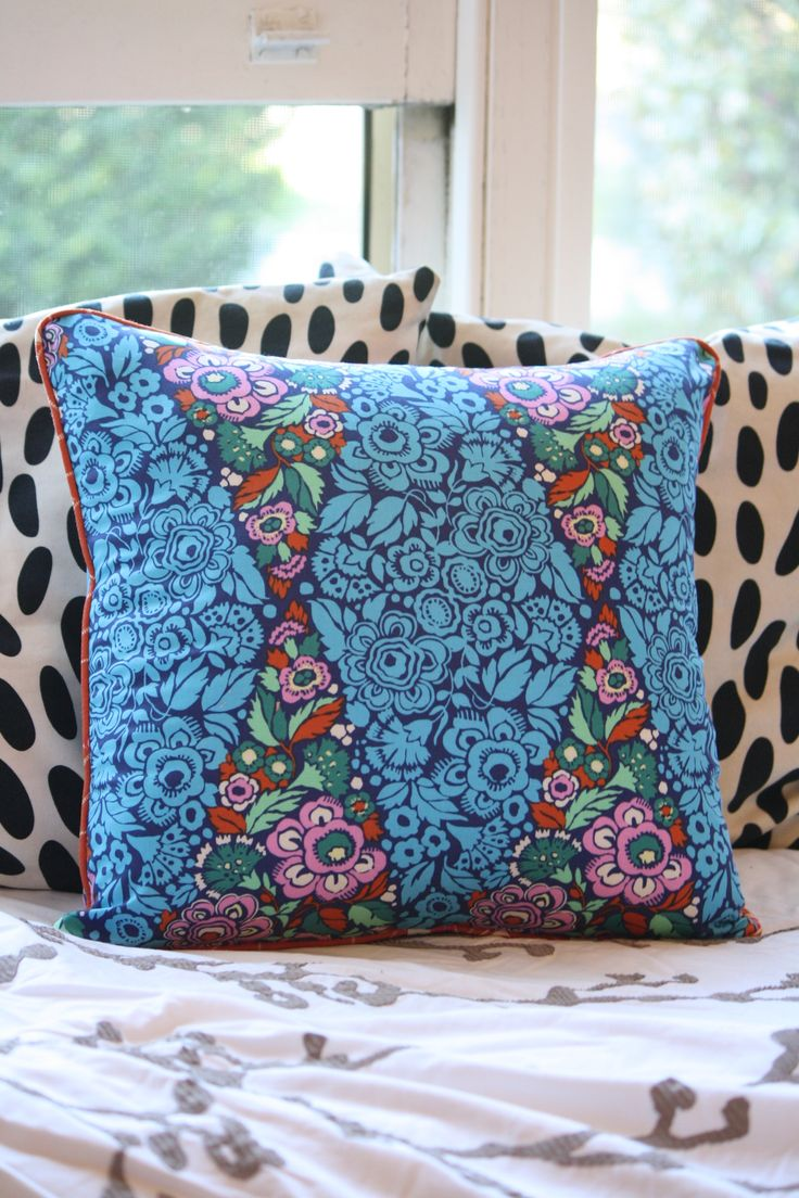 Perfectly Piped Pillow Sewing Pattern