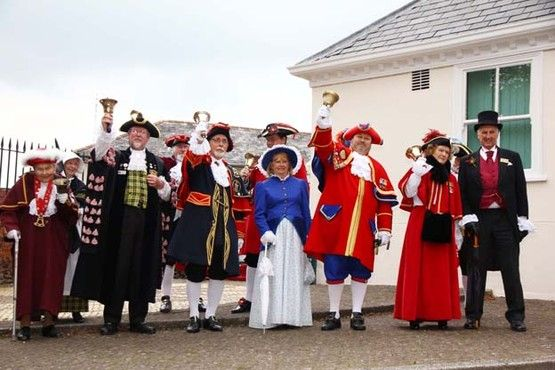Town Criers from across the counties take part at the annual town Crier competition in Phoenix Lane on Saturday