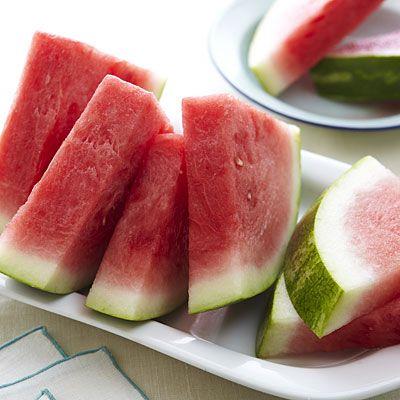 WATERMELON is full of vitamin C, beta carotene, and lycopene, and it's 92% water! | health.com