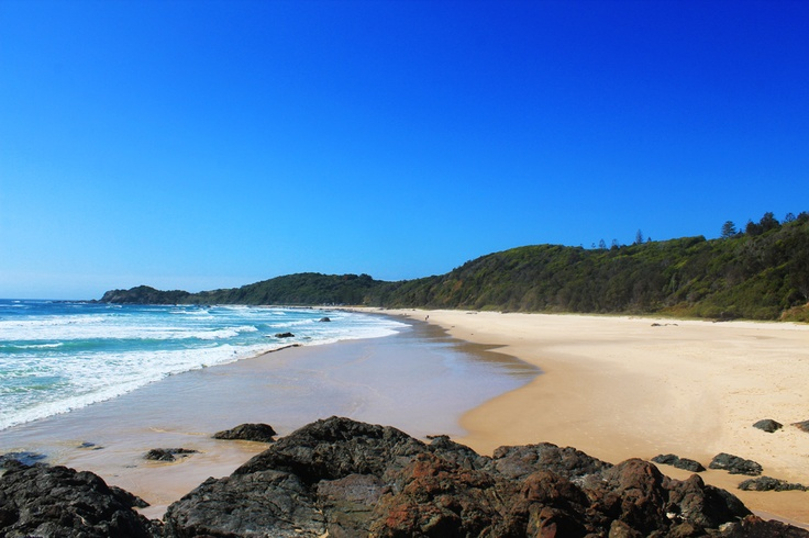 Port Macquarie beach, Australia