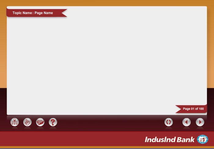 E-learning templates by Papiya Das at Coroflot.com