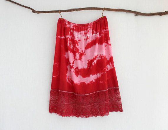 BOHEMIAN . women's tie dye skirt . plus size 24 . by bohemianbabes