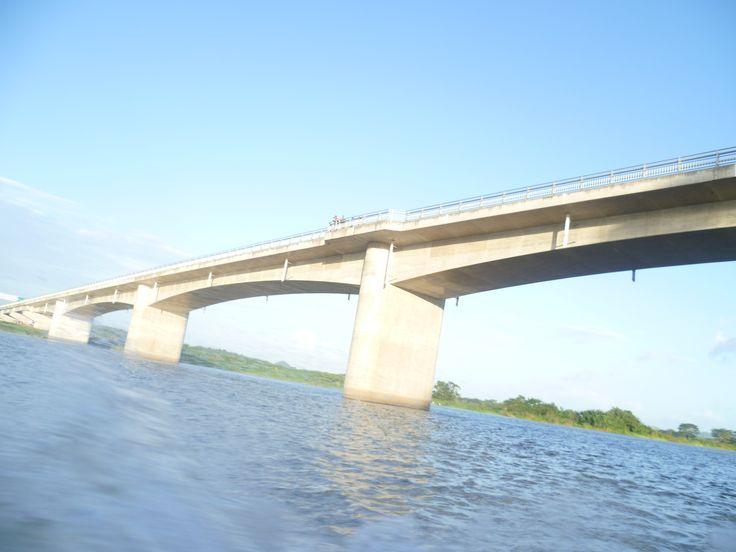 Puente Santa Fe, Rio San Juan de Nicaragua.
