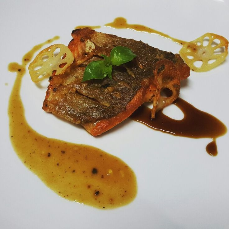 Pan Seared Salmon #homecooking