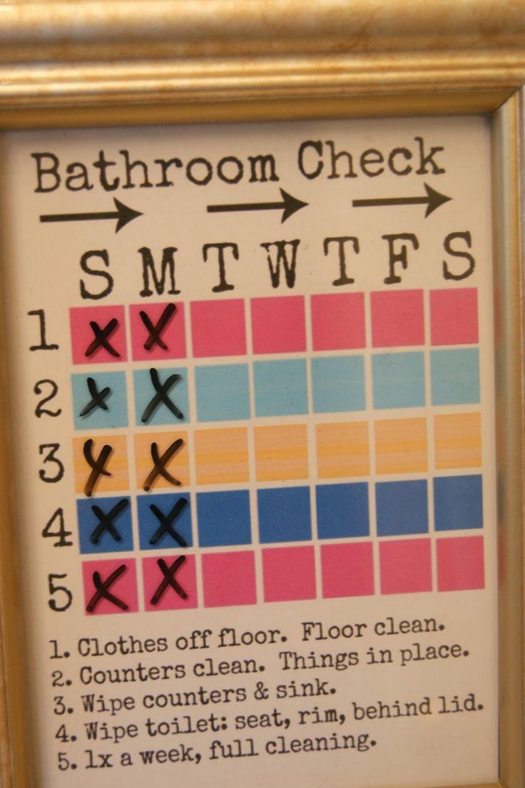 michelle paige: Helping a Tween Keep Their Bathroom Clean!