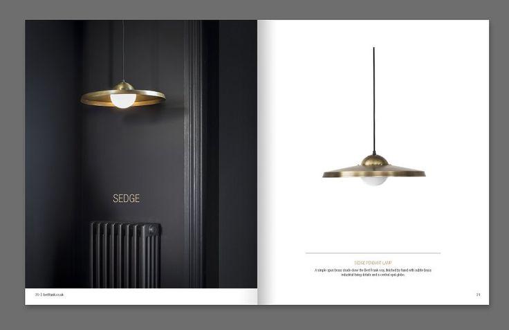 7am Creative Agency Bert Frank Lighting Brochure