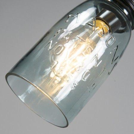 Lampwa wisząca Masons pastelowy niebieski