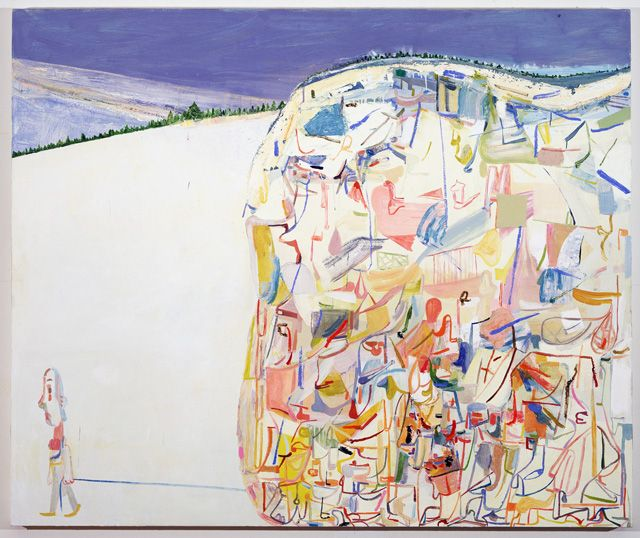Between Figuration and Abstraction with Amy Sillman