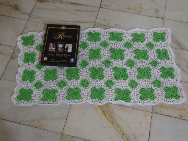 """trying out with colours motif pattern courtesy Mom""""sLove of crochet.com"""