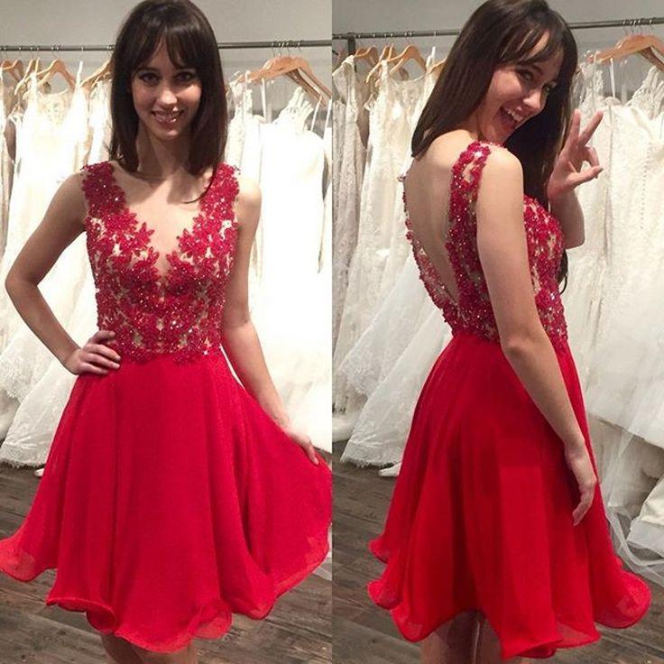 Elegante-curto-vestido-de-formatura-oitava-série-meninas-para-o-ensino-médio-vermelho-Prom-Vestidos-de.jpg (800×800)
