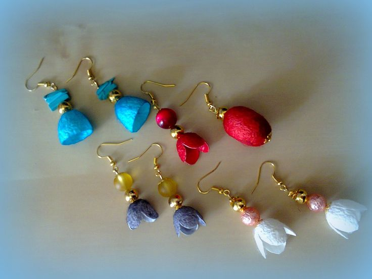 cocoon earrings/KINZ jewelry