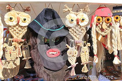 Traditional masks for sale handmade.