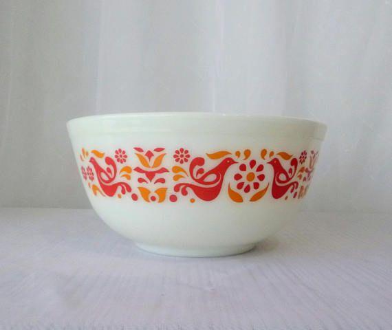 BOL à Mélanger / Mixing bowl PYREX Patron Amitié /