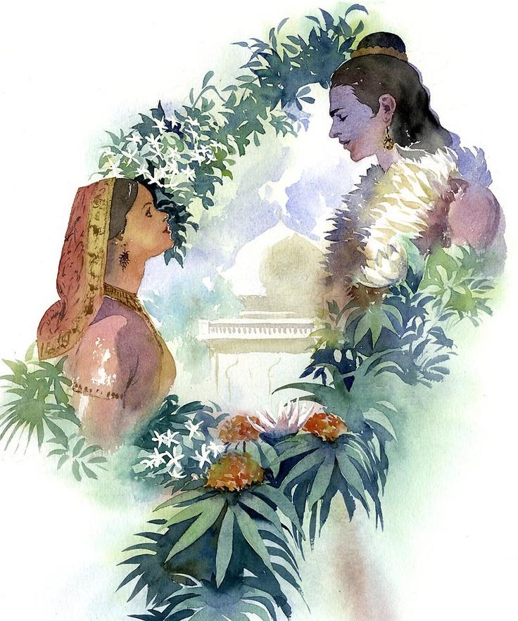 Ramayana — Rama and Sita, avatars of Vishnu and Lakshmi