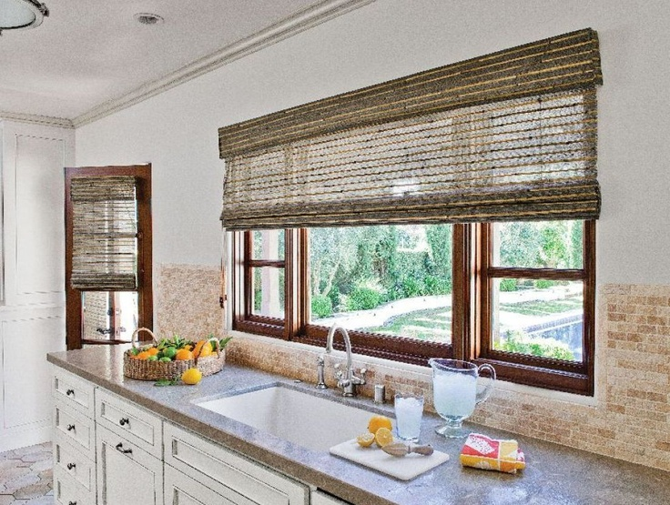 17 best images about natural woven shades on pinterest for Smith and noble bamboo shades