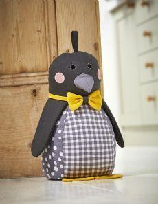 Ulster Weavers Penguin Doorstop - Fabric Door Stops | Home Accessories - The Present Season