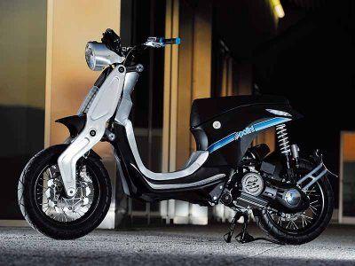 Ghost LS : un concept-scooter électrique de luxe