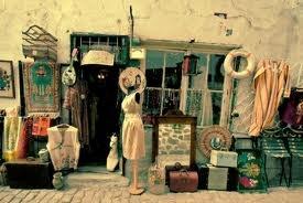 A good vintage second hand shop...