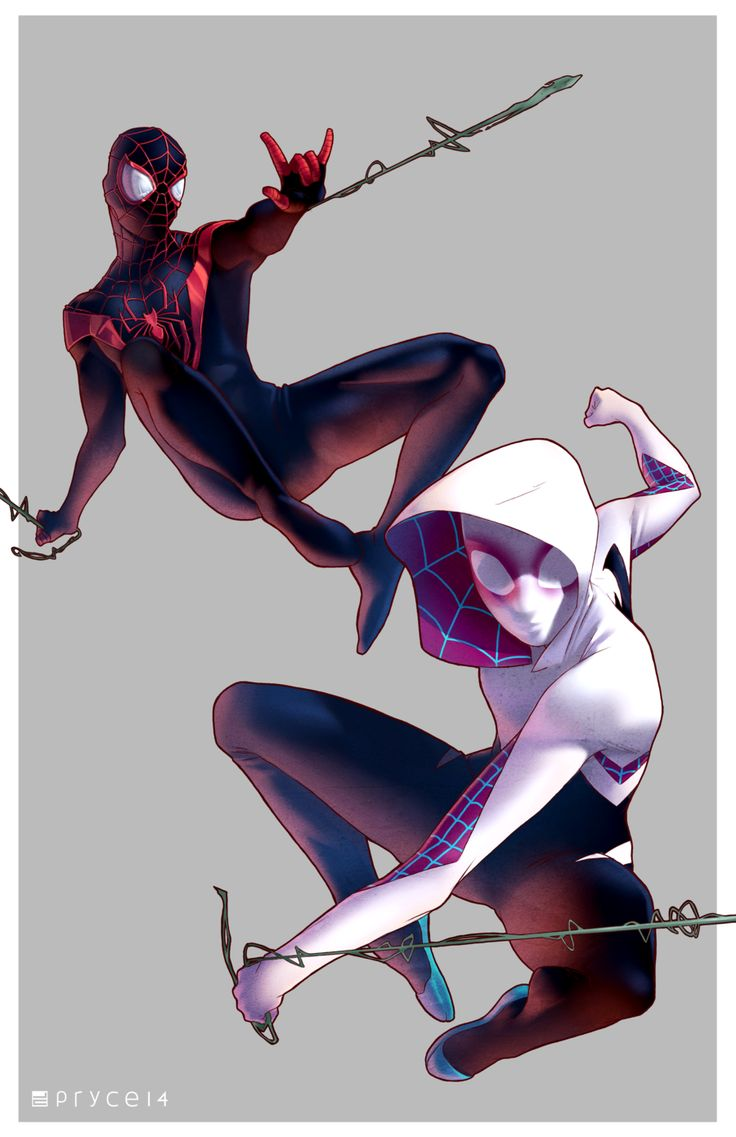 Gwen and Miles by Pryce14.deviantart.com on @DeviantArt