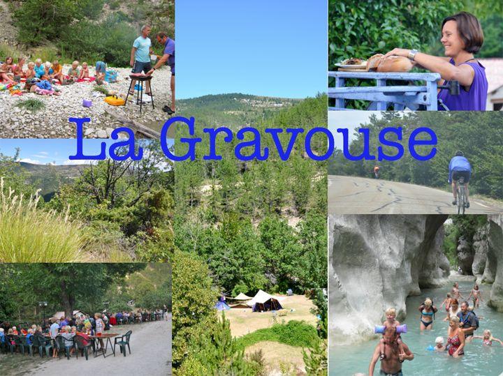 Drome | 25 plaatsen | rivier en zwembad | la Gravouse