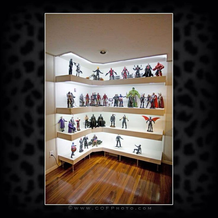 Best Collectible Displays Images On Pinterest Display Cases - Display shelves collectibles wall shelves for collectibles display