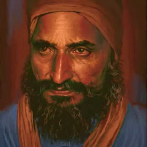 Bhagat Singh shre this Time lapse of paint a portrait of Bhai Gurbaksh Singh ji from start to finish. Check this Realistic Portrait of Bhai Gurbaksh Singh Ji.