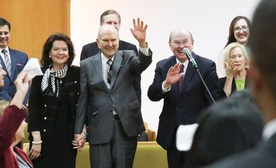 Watch: President Nelson Says New Temples, Other Announcements Will Be Made This General Conference