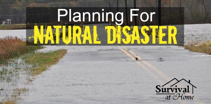 In case of a natural disaster, does your family know what to do? It is important for your family to discuss a disaster plan just in case disaster strikes!