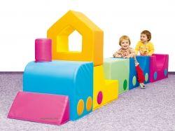 Tren de colores foam