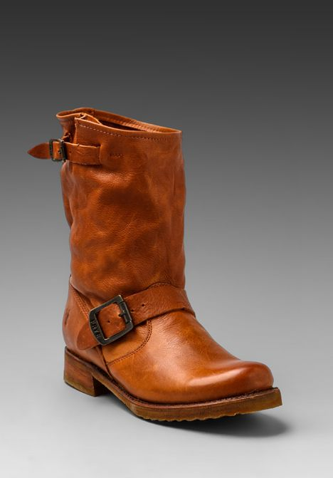 veronica short boot. this pair, this color will be my first frye boot purchase!