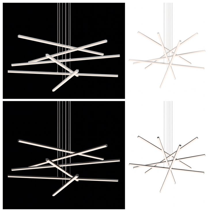 Today's fixtures are these awesome fixtures from Sonneman called #Stix! A nice and clean composition of LED Stix, these are adjustable and can be arranged in any position you like. Available in satin aluminum and satin black and three or six Stix fixtures. #Sonneman #Stix #suspensionfixtures #contemporary #contemporarydesign #design #modern #LED #LEDfixtures #LEDlighting #lighting #dailyfixturefeature #lightform #phoenix #lightinglife #switchingongoodtaste #showroom