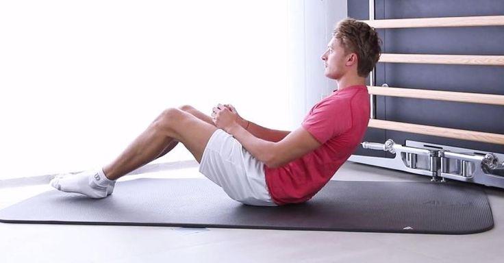 Bauchmuskeln trainieren: Russian Twist verbrennt am meisten Bauchfett - Video - FOCUS Online