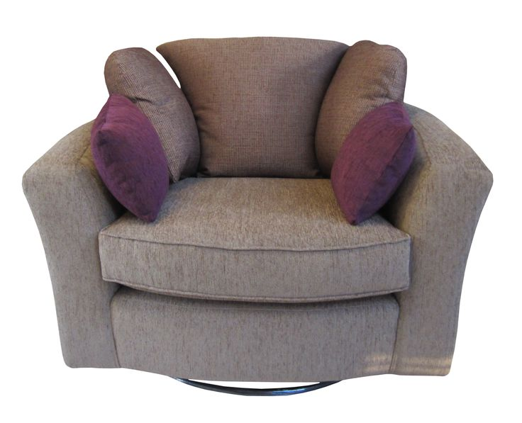 Zara Swivel Snuggle Chair.  This Chair can be made in various fabrics. We have over 80 fabric sample books to choose from.   View this chair on our website in different fabrics.  http://drumbristonfurniture.ie/chairs21.html