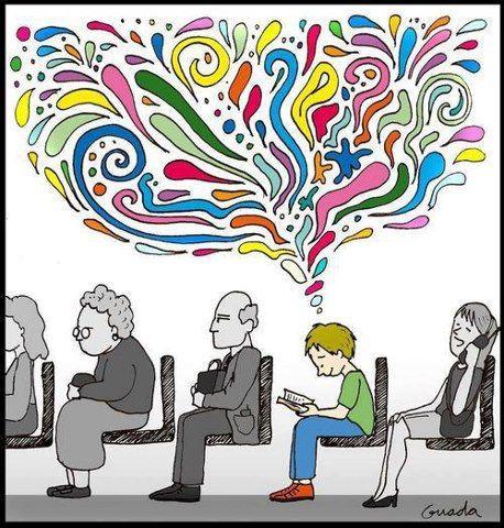 """""""De los diversos instrumentos inventados por el hombre, el más asombroso es el libro; todos los demás son extensiones de su cuerpo… Sólo el libro es una extensión de la imaginación y la memoria"""". Jorge Luis Borges."""