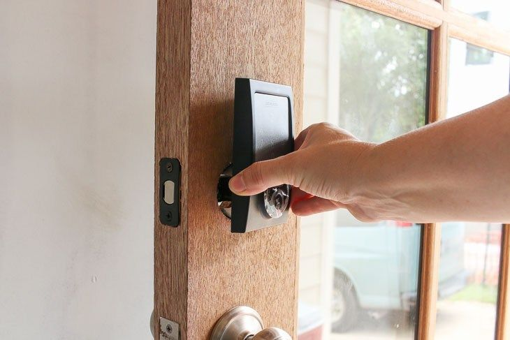 How And Why You Should Install A Smart Lock On Your Door Deadbolt Lock Entry Doors House Doors