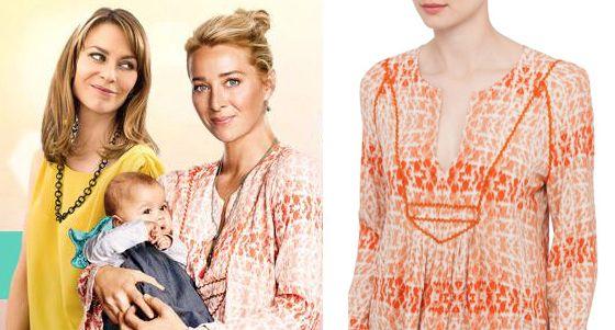 Nina Proudman Tigerlily top   and Baby Zoe in Oishi-m El-Nina Dress