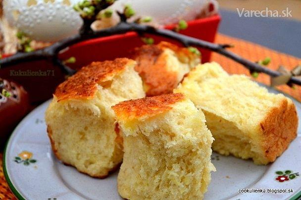 Kysnuté pufky so zemiakmi a údeným syrom (fotorecept) - Recept
