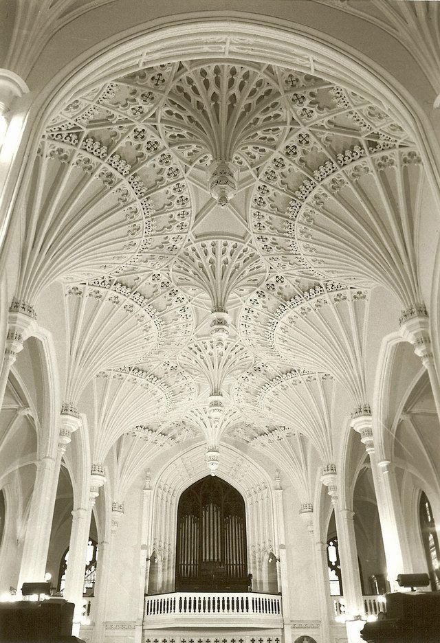 Beautiful Church Ceiling!