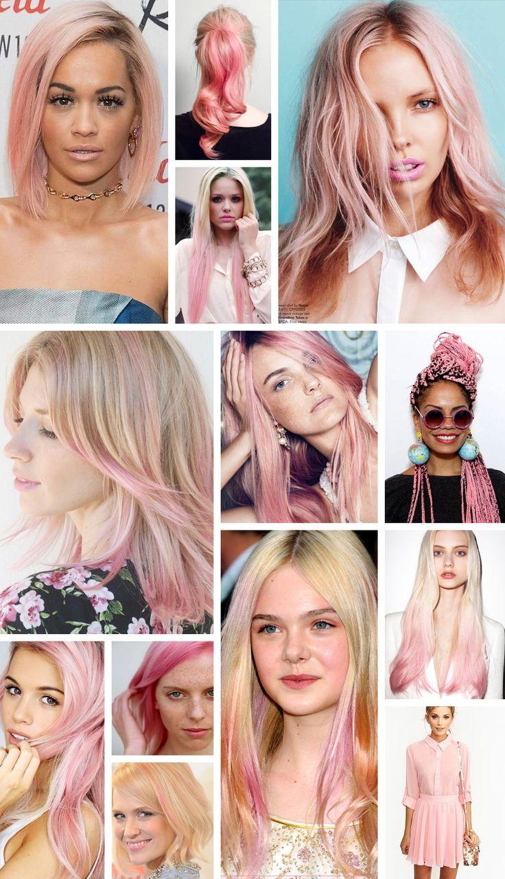 A Cor do Ano 2016: Rose Quartz (ou Rosa Quartzo) Hypefemme | por Patricia Sachs - Inspiração Cabelos / Hair Inspirations