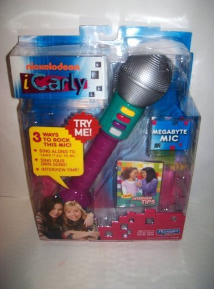 iCarly Megabyte Microphone - Purple by iCarly -- Awesome products selected by Anna Churchill