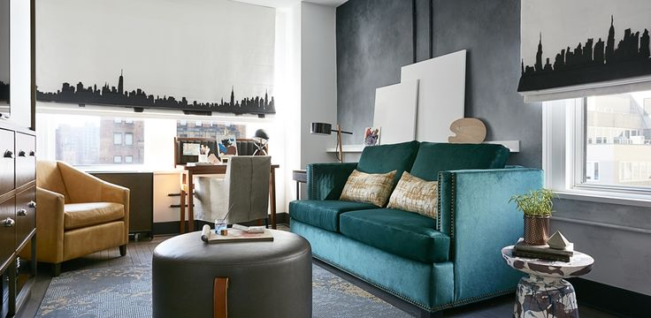 The Renwick Hotel New York City, Curio Collection by Hilton, NY - Suite Living Area | NY 10016
