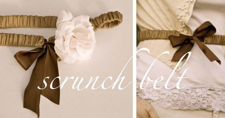 ~Ruffles And Stuff~: The Scrunch Belt