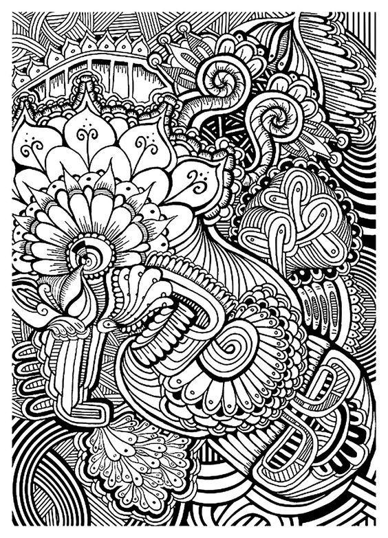 Coloriage Adulte Zen Imprimer.Coloriage Zen Coloring Book Pages Coloring Pages To Print Adult